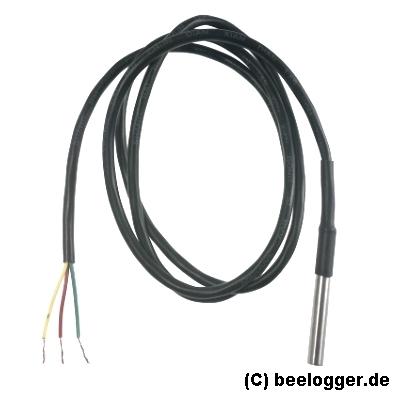 beelogger DS18b20 wasserdicht