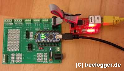 beelogger W5100 Test