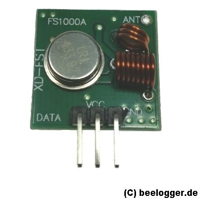beelogger RF433 Transmitter