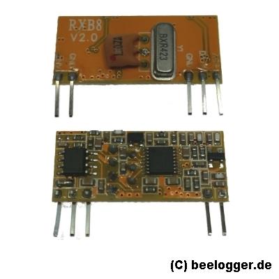 beelogger RXB8 RF 433