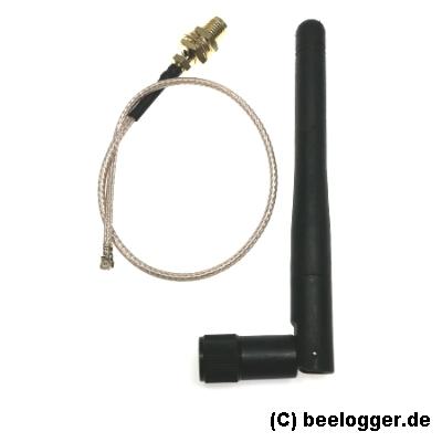 beelogger nRF24L01 Antenne