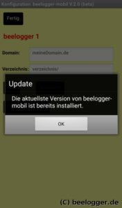 beelogger android app