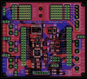beelogger solar layout v2 geroutet