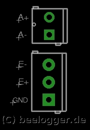 beelogger easyplug anschluss hx711