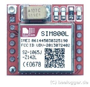 beelogger Solar SIM800L Top