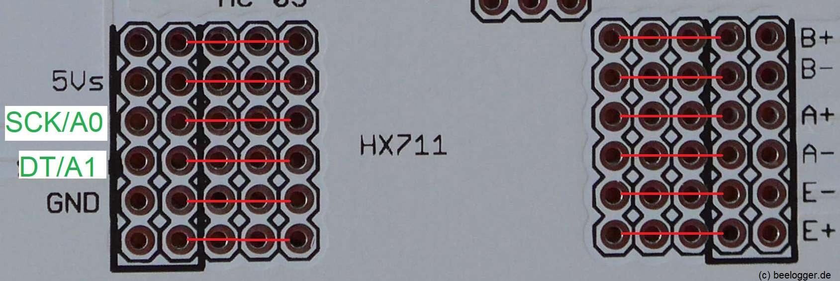 Universal Anschaltung HX711