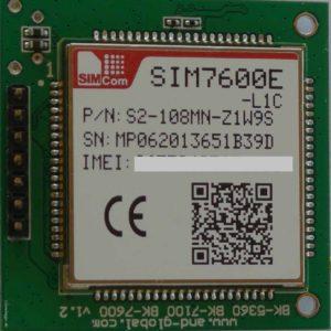 SIM7600E Breakout Bord