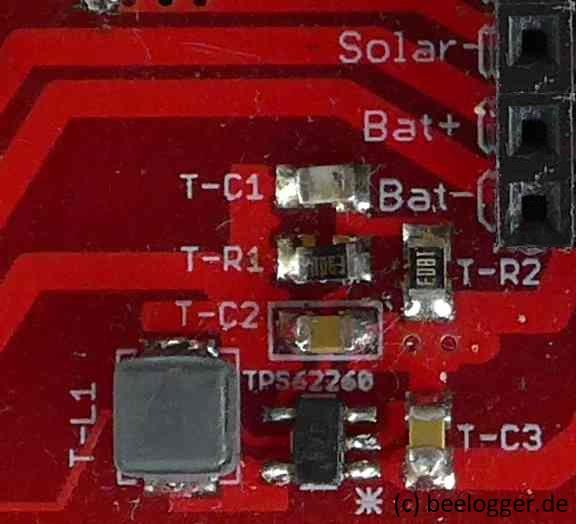 beelogger-SMD TPS62260 bestückt