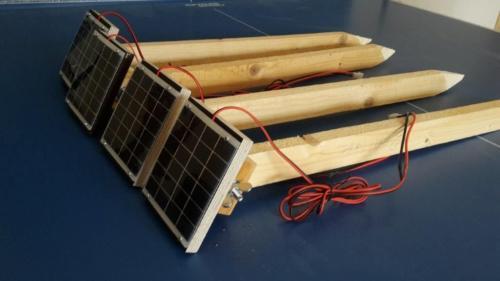 Solarzellenhalter - Karin2020