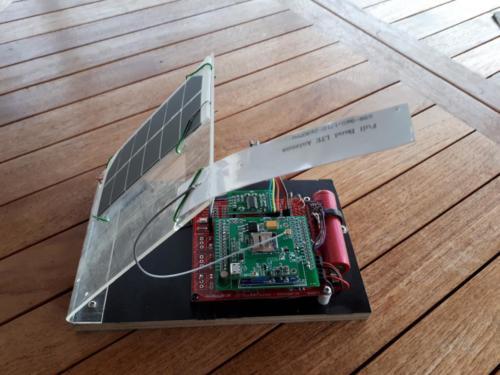 beelogger Solar mit LTE-Shield, SIM7600E Modul