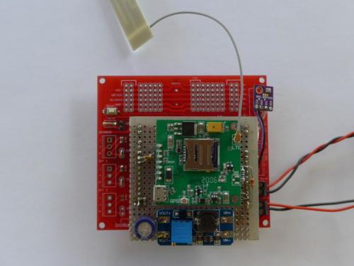 beelogger Solar LTE-Shield Prototyp